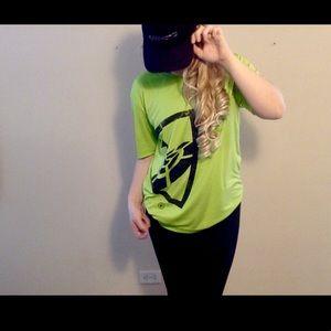 Neon Green Topgolf TShirt